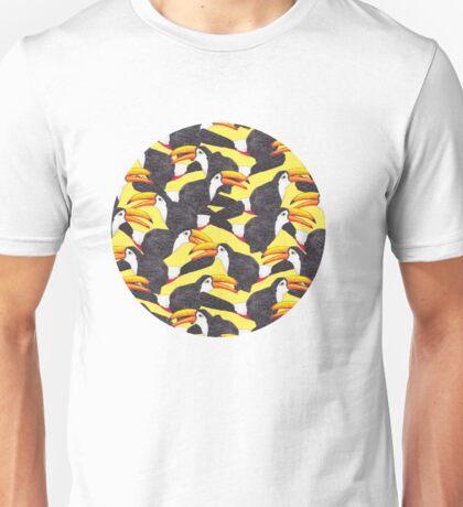 Toucan [yellow] Unisex T-Shirt