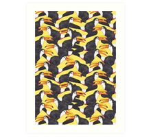 Toucan [yellow] Art Print