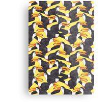 Toucan [yellow] Metal Print