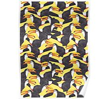 Toucan [yellow] Poster
