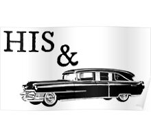 His & Hearse Poster