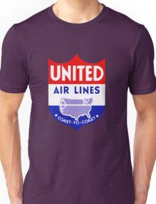 United Luggage Tag Unisex T-Shirt