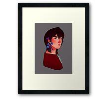 Flower Keith - Voltron Framed Print