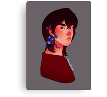 Flower Keith - Voltron Canvas Print