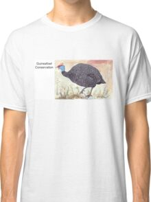 Guineafowl Conservation Classic T-Shirt