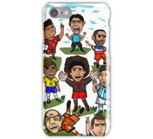 The World Cup Toons iPhone Case/Skin