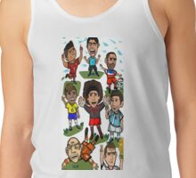 The World Cup Toons Tank Top