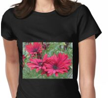 Red Cape Daisy Quartet Womens Fitted T-Shirt