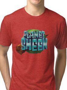 Planet Sheen Tri-blend T-Shirt
