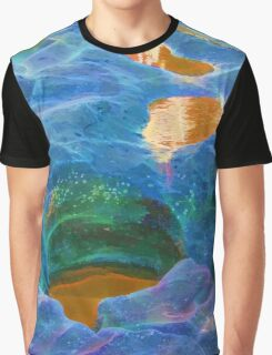 Abstract beautiful rock pools Graphic T-Shirt