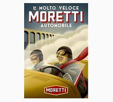 """MORETTI AUTO RACES"" Vintage Grand Prix Print Unisex T-Shirt"