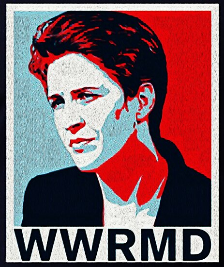 What Would Rachel Maddow do? by Michael Roman