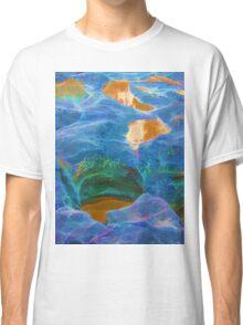 Abstract beautiful rock pools Classic T-Shirt