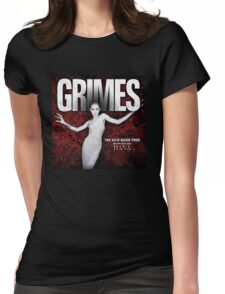 GRIMES  Tour 2016 Womens Fitted T-Shirt