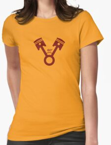 60 degree V engine (4) Womens Fitted T-Shirt