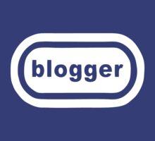 Blogger (white print) by Bela-Manson