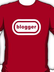 Blogger (white print) T-Shirt