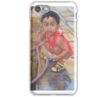 Helping Dad iPhone Case/Skin