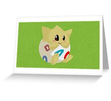 Togepi Paint Greeting Card