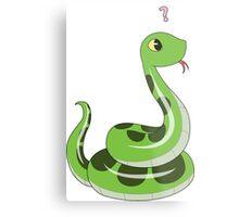 Chibi snake Metal Print