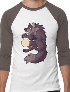 Claw at the Moon Men's Baseball ¾ T-Shirt