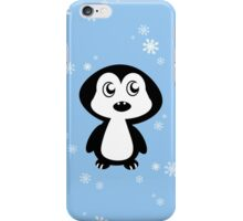 Penguin Blue iPhone Case/Skin