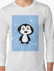 Penguin Blue Long Sleeve T-Shirt