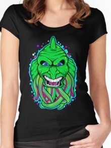 Lagoon Creature Women's Fitted Scoop T-Shirt