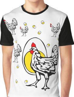 Roseanne Chicken Graphic T-Shirt