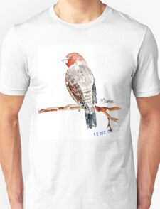 Red-headed Finch (Rooikop Vink) Unisex T-Shirt