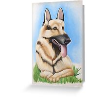 German Shepard - It's Always Sunny in Philadelphia Greeting Card