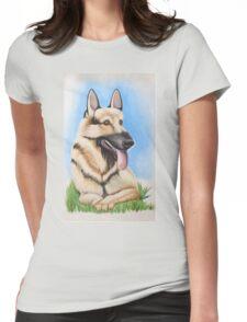 German Shepard - It's Always Sunny in Philadelphia Womens Fitted T-Shirt