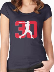 Naquin Women's Fitted Scoop T-Shirt