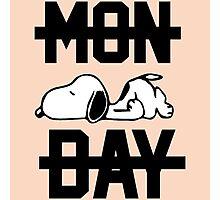 Snoopy Lazy Monday Photographic Print