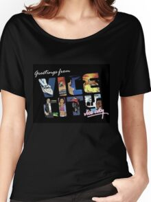 vice city Women's Relaxed Fit T-Shirt
