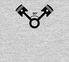 90 degree V engine (1) Unisex T-Shirt