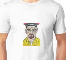 Walter White from Breaking Bad by Pandora Fox  Unisex T-Shirt