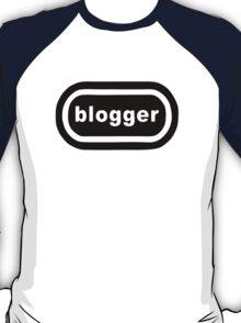 Blogger (black print) T-Shirt
