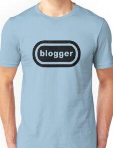 Blogger (black print) Unisex T-Shirt