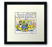 Duck Dynasty In NYC Framed Print