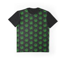 Funny marijuana leaf Graphic T-Shirt