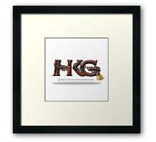 Rock Out with Hard Knock Gamers Framed Print