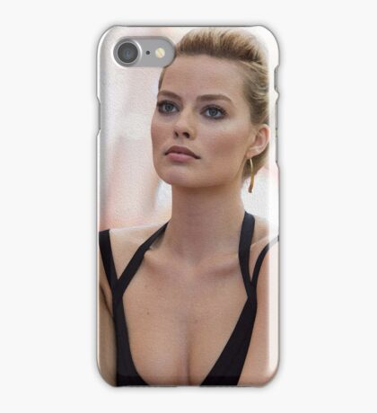 Margot Robbie - Oil Paint Art iPhone Case/Skin