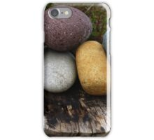 A cluster of stones iPhone Case/Skin