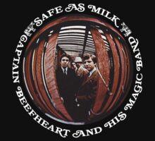 Captain Beefheart Safe As Milk Kids Tee