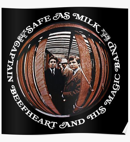 Captain Beefheart Safe As Milk Poster