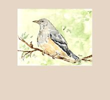 Olive Thrush (Turdus olivaceus) Womens Fitted T-Shirt