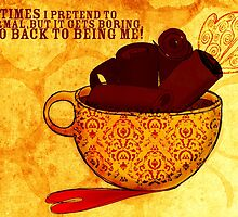 What my Coffee says to me -  November 29, 2012 by catsinthebag