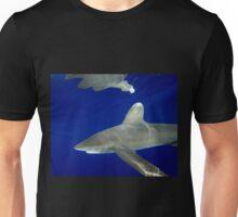 Oceanic White Tip Shark Reflections Unisex T-Shirt