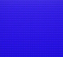 Building Block Brick Texture - Blue by graphix